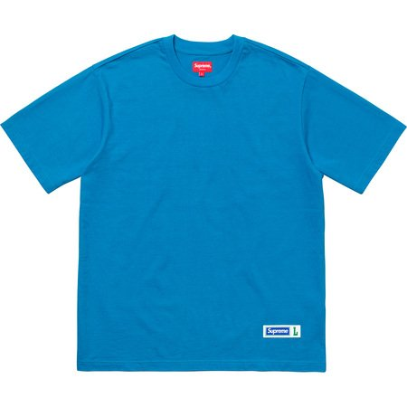 Athletic Label S/S Top (Blue)