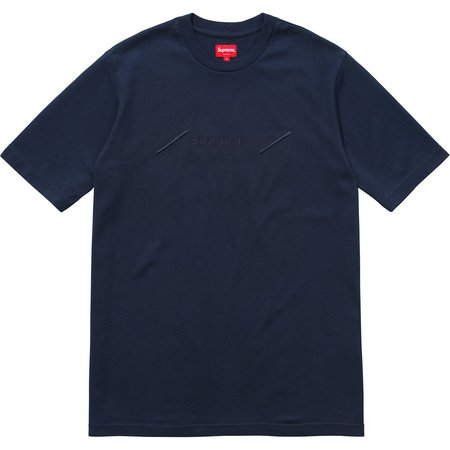 Tonal Embroidery Top (Navy)