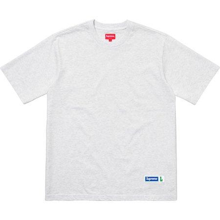 Athletic Label S/S Top (Ash Grey)