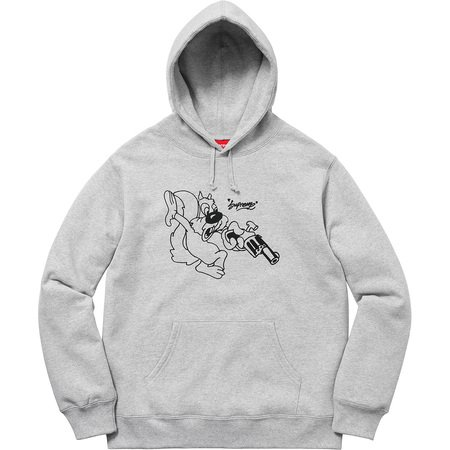 Lee Hooded Sweatshirt (Heather Grey)