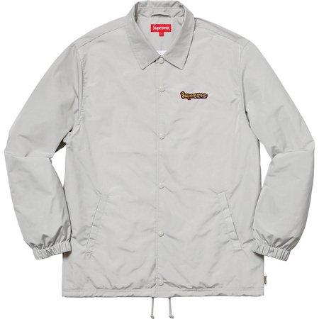Gonz Logo Coaches Jacket (Grey)