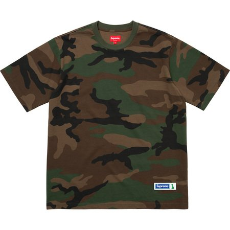 Athletic Label S/S Top (Woodland Camo)