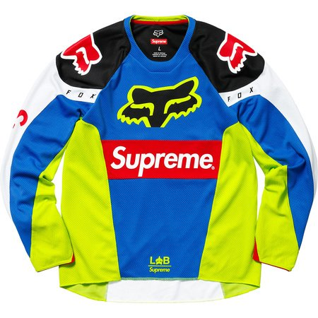 Supreme®/Fox Racing® Moto Jersey Top (Multicolor)