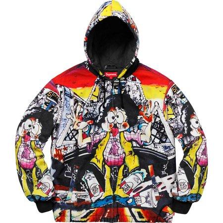 The Yard Hooded Work Jacket (Multi)