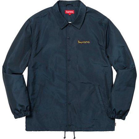 Gonz Logo Coaches Jacket (Navy)