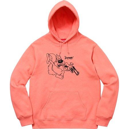 Lee Hooded Sweatshirt (Coral)