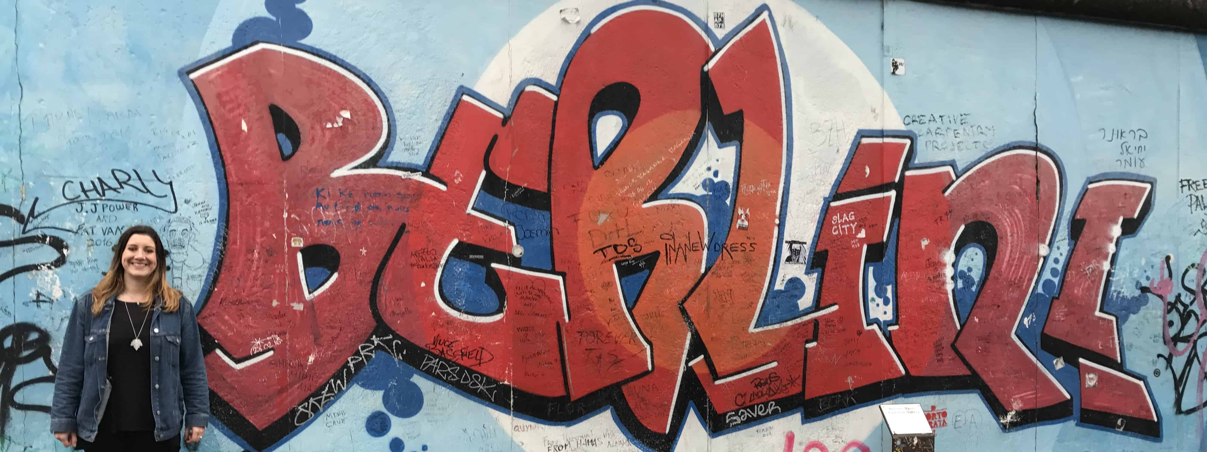 East Side Gallery Berlin Hannah