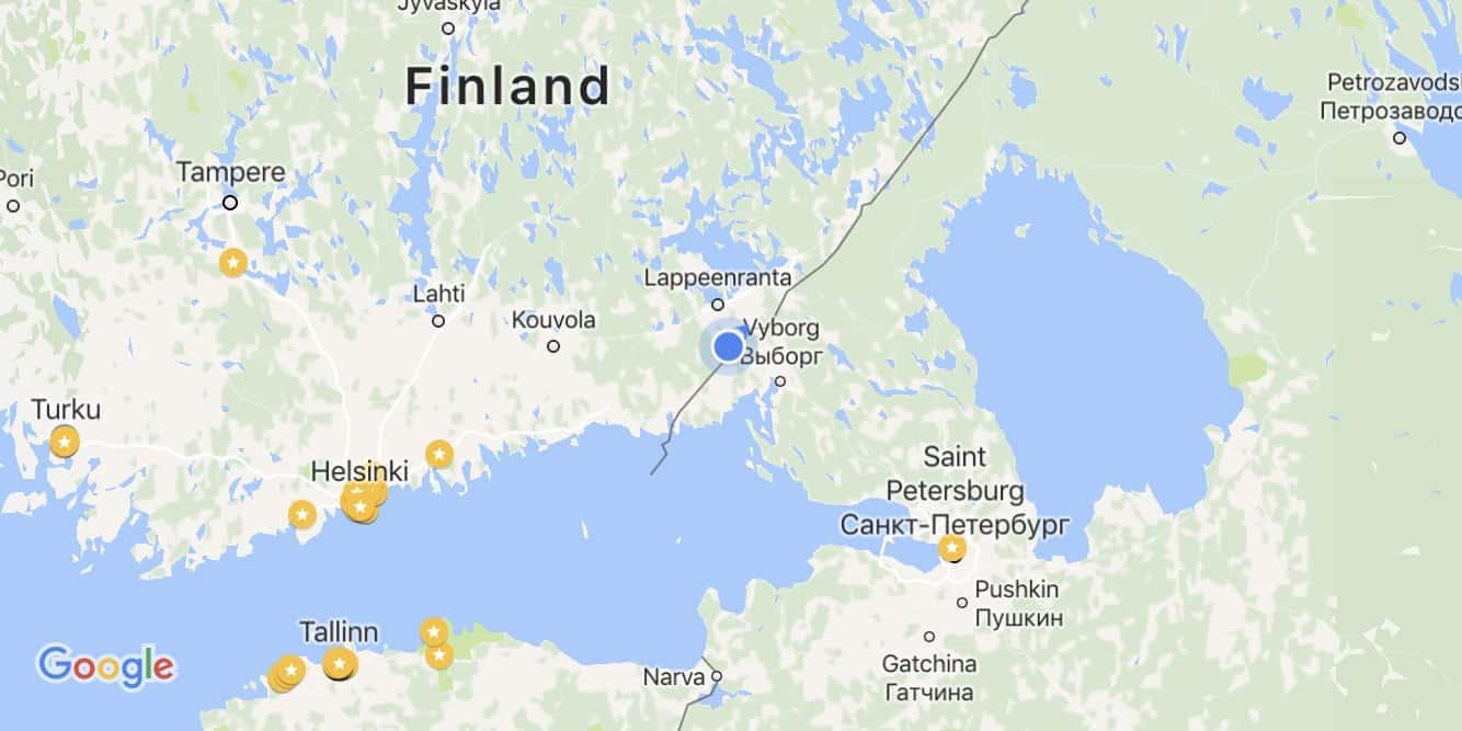 Finnish Russian Border Leaving the EU