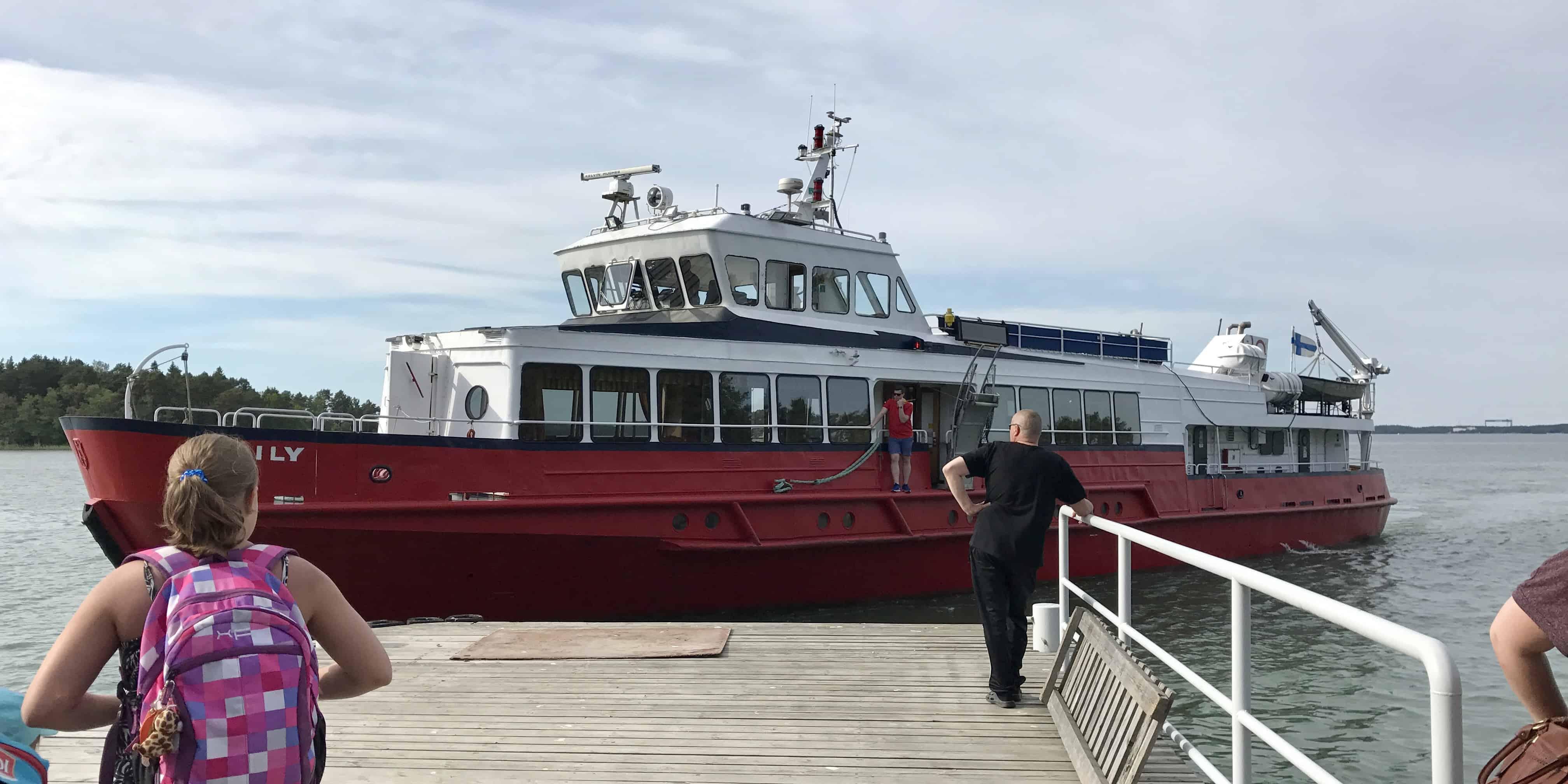 Ferry betternotstop Vepsa Finland Turku