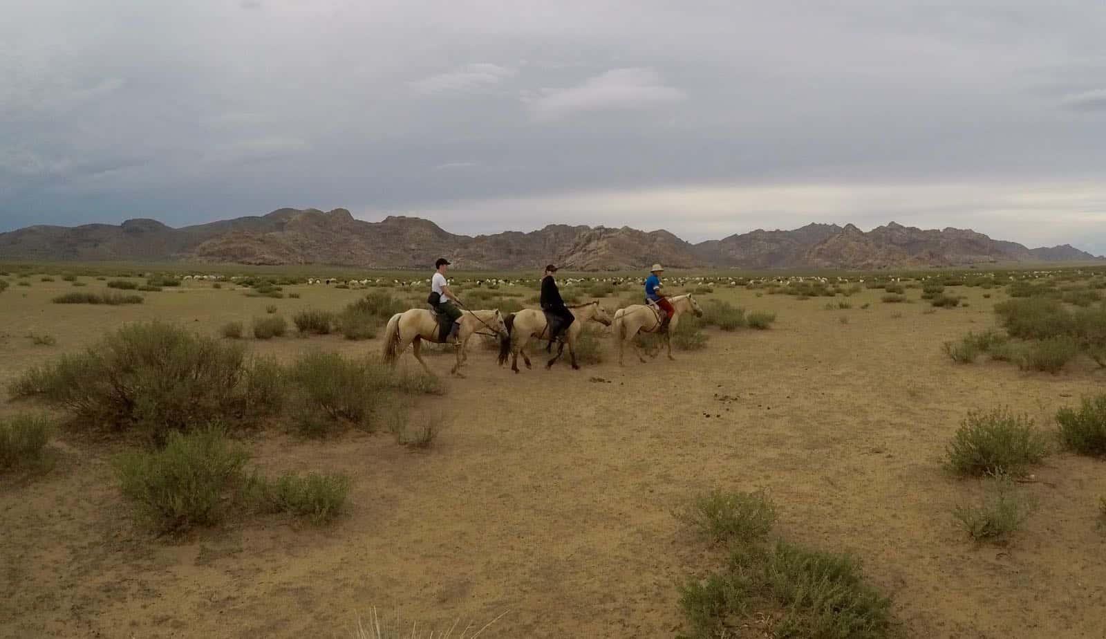 Hannah Phil Horses betternotstop Mongolia Nomads