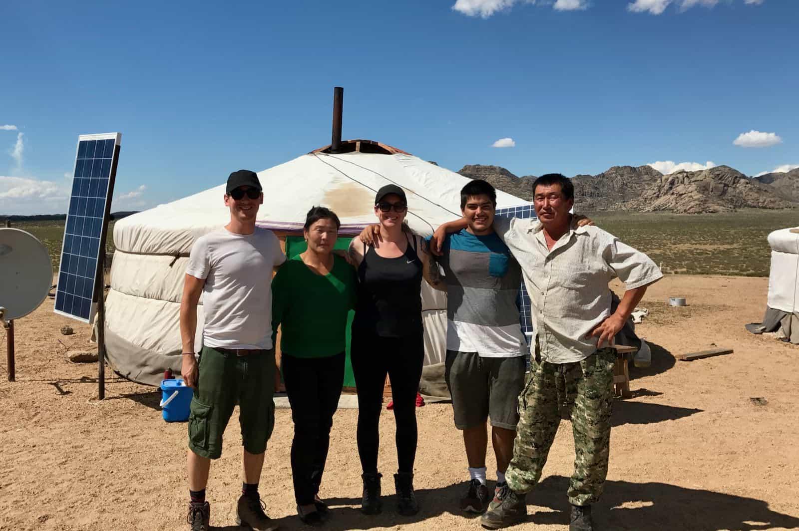 Nomadic Family betternotstop Mongolia