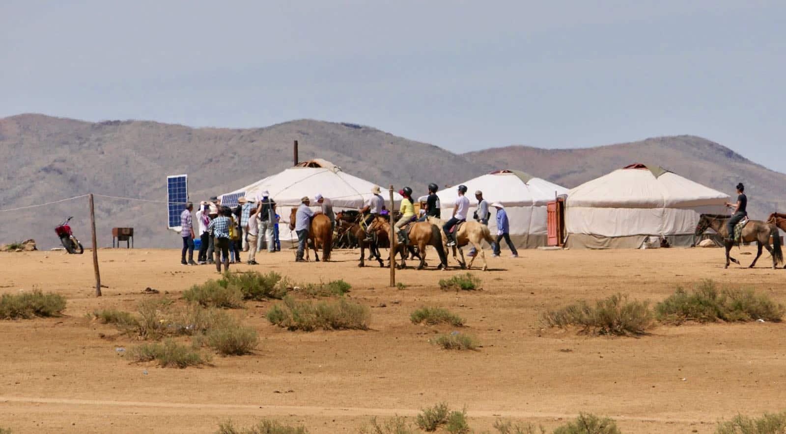 Tourists Mongolia Nomads betternotstop