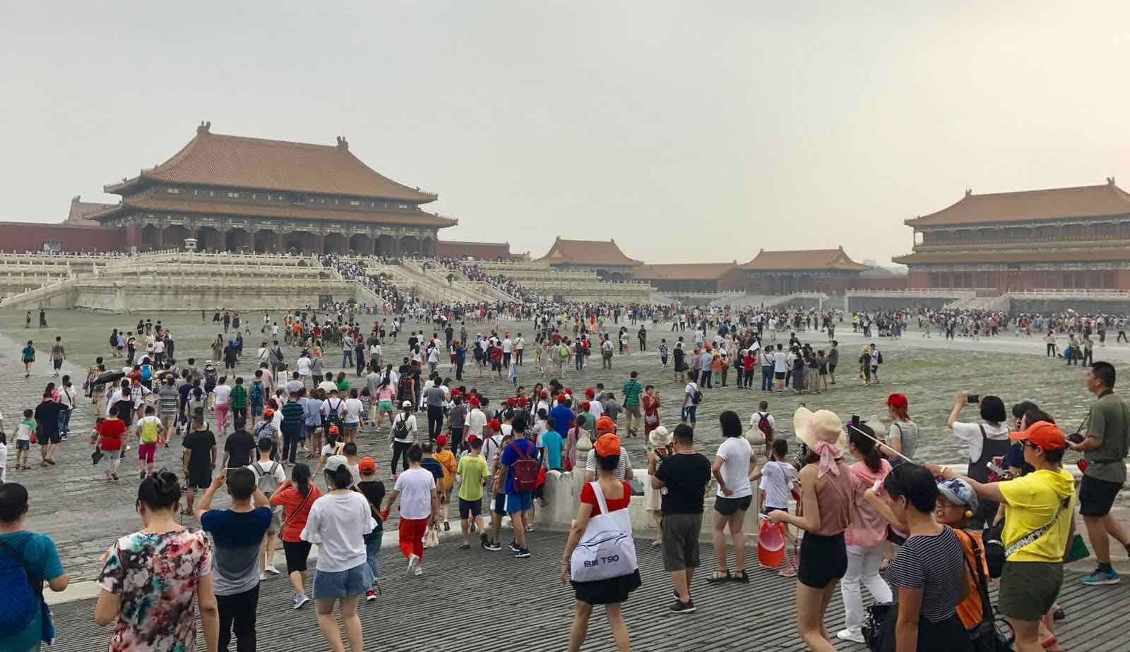 Forbidden City Beijing Chine betternotstop