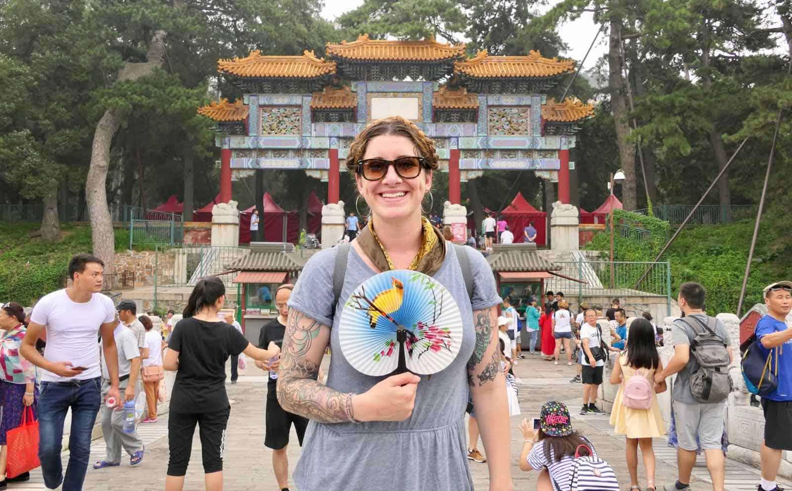 Summer Palace Beijing China Hannah betternotstop