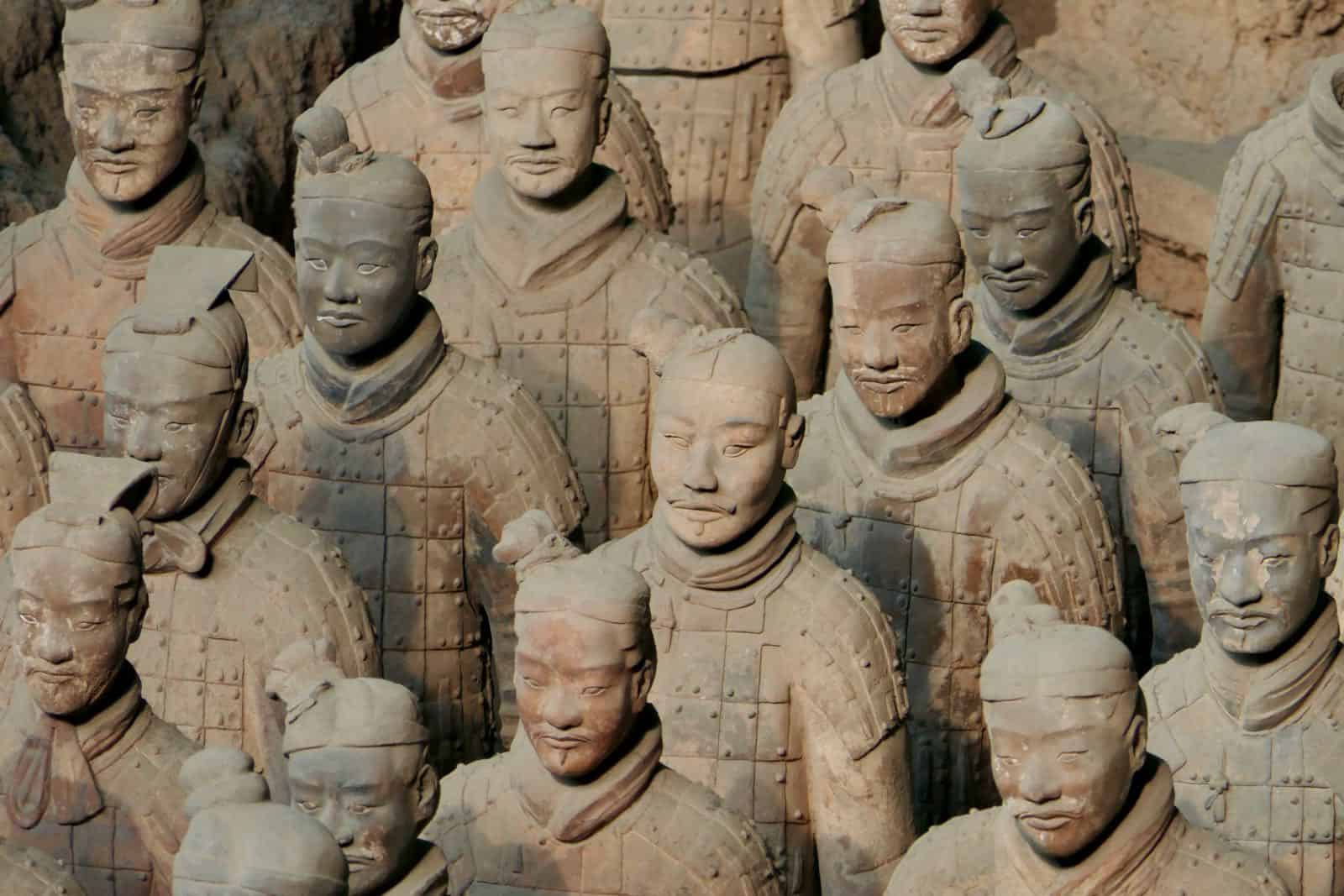 Terracotta Warriors betternotstop Xi'an China