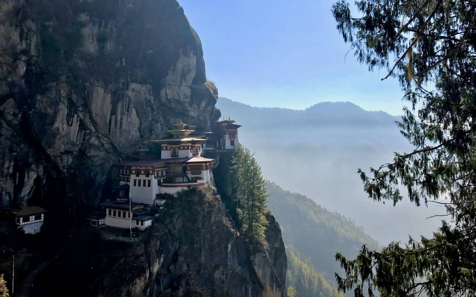 Paro Bhutan betternotstop bucket list mountain monastery