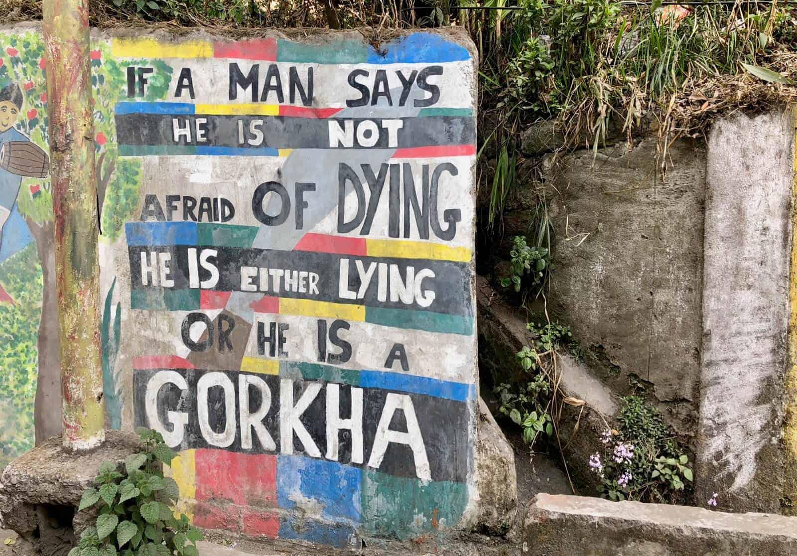 Street slogans darjeeling betternotstop