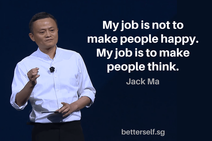 Image result for jack ma don't do it for the money