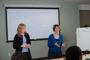 Jill Corona and Kerri Nelson of Corona Consulting
