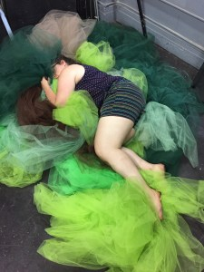 Casey in Tulle