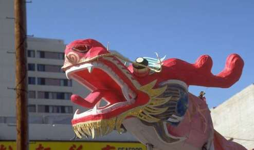 Will the Chinese dragon bring you good (TOEFL) luck this year?