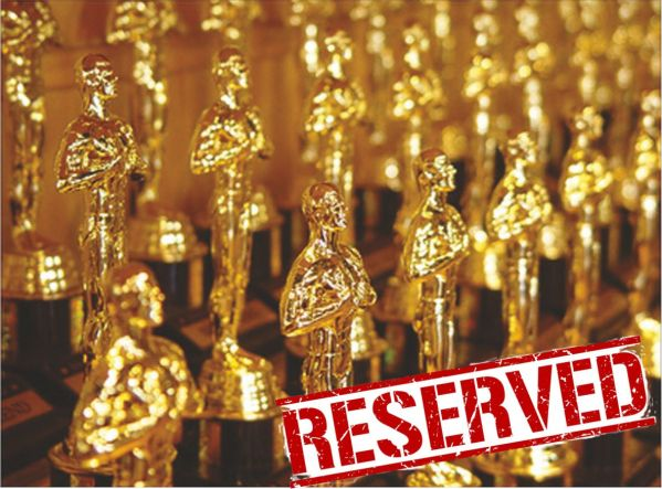 Tower Trophies Oskar Icon Awards - Reserved for a customer pending receipt of Engraving Instructions