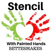 kids crafts stencil