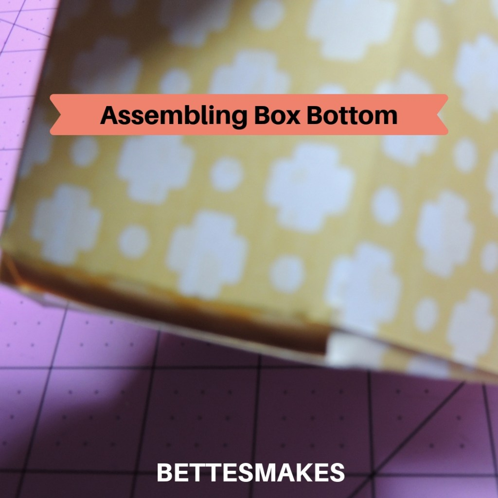 DIY Box - Assembling the Box Bottom