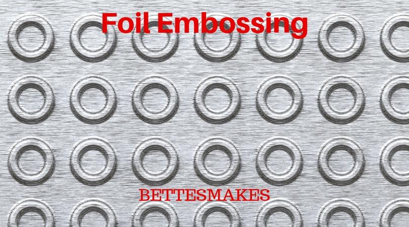 Foil Embossing Technique