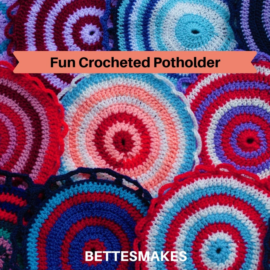 Fun Crocheted Potholders