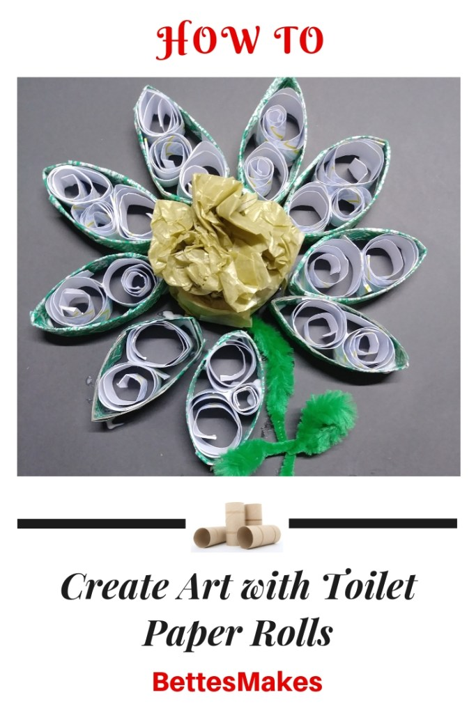 How to Create Art with Toilet Paper Rolls