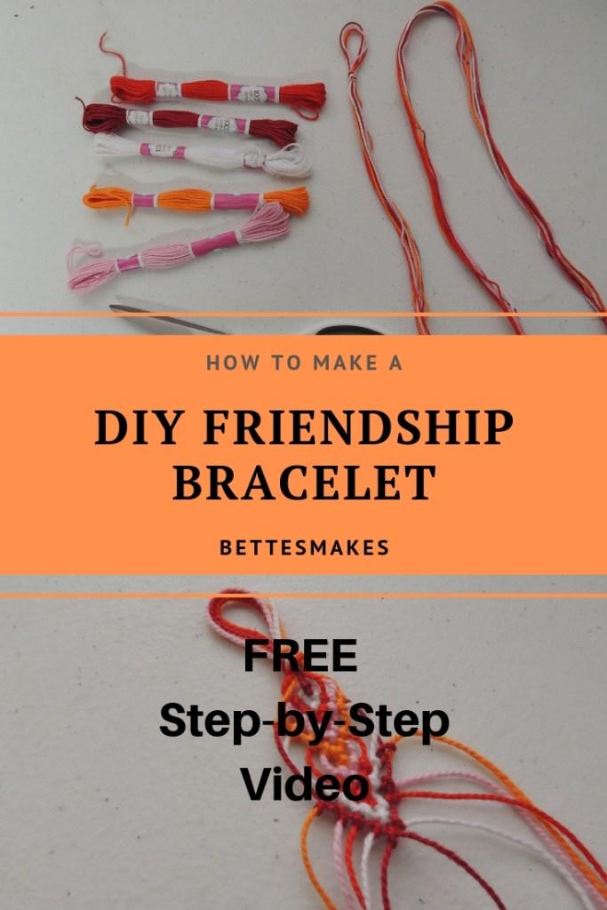 How to Make A DIY Friendship Bracelet