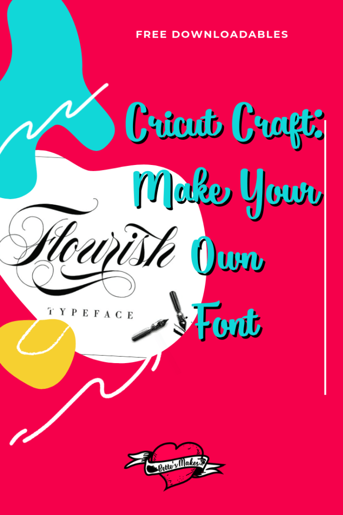 Make your own font and use it in Cricut Design Space, for your handmade cards, paper crafts and so much more. Nothing is better than a font you have created just for yourself! Bettesmakes.com