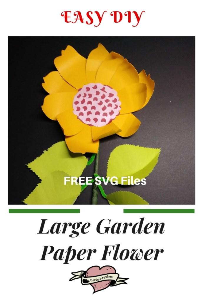 Easy Large Garden DIY Paper Flower