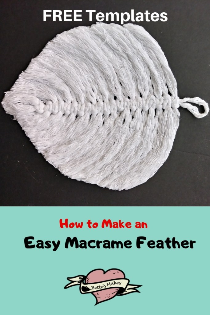 How to Make an Easy Marame Feather