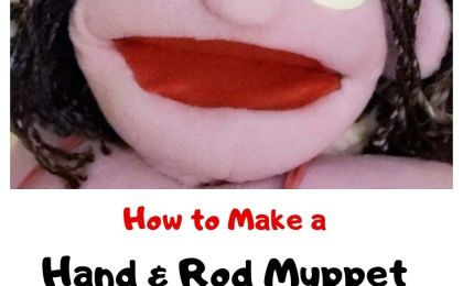 How to Make a Hand and Rod Muppet-style Puppet