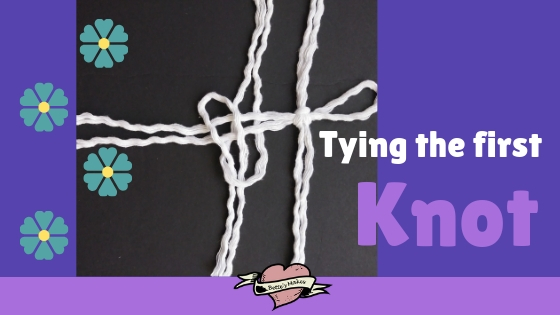 Tying the first knot