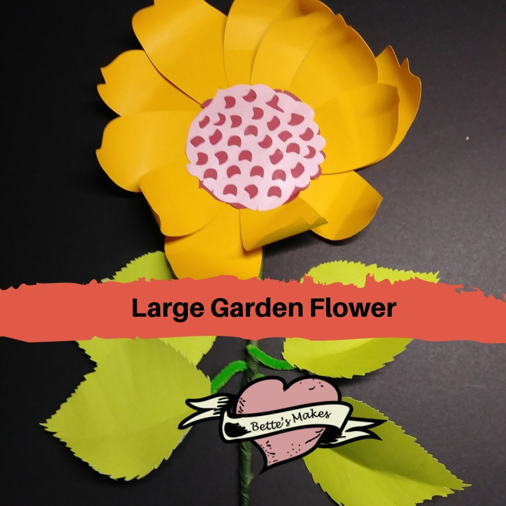 Easy Large Garden DIY Paper Flower