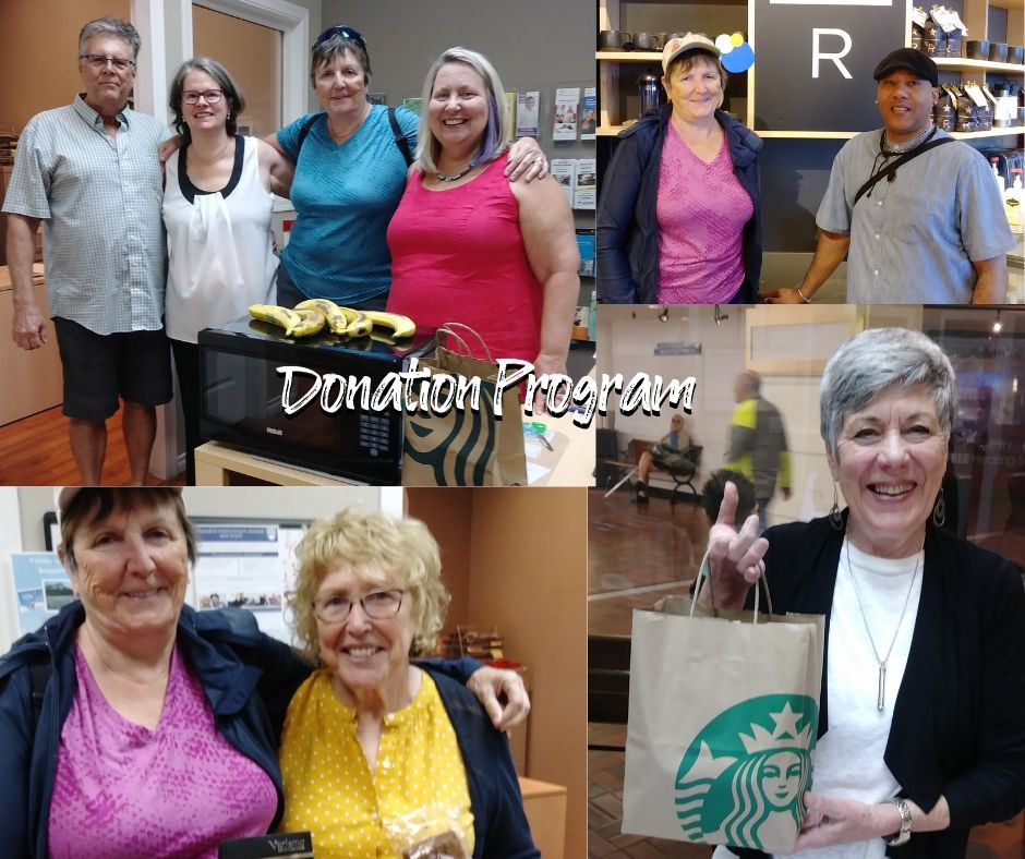 Rotary Club of Vancouver Yaletown West End Seniors Network and Starbucks Donation Program