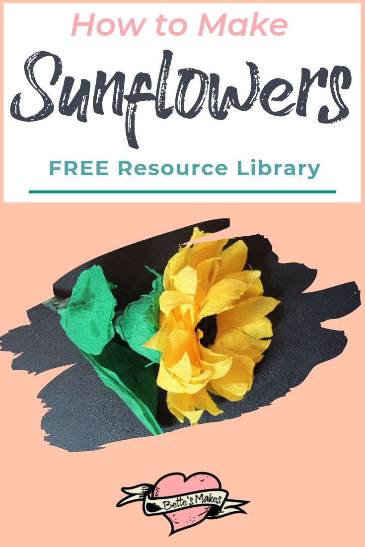 Fun with Sunflowers - BettesMakes