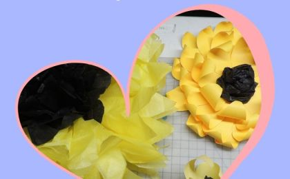 How to Make Sunflowers - BettesMakes.com
