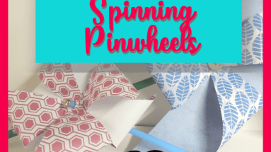 How to Make Spinning Pinwheels - BettesMakes.com