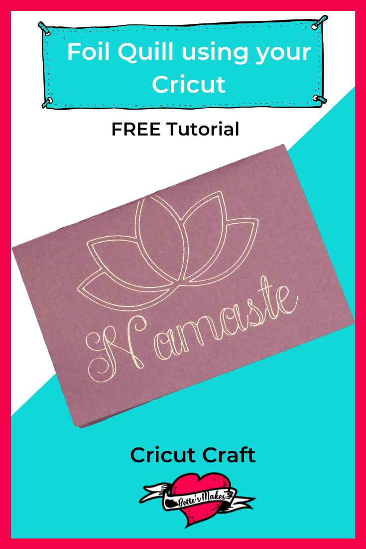 Imagine all the embellishments you can add to you DIY projects using the Foil Quill heat pen! #cricut #wermemorykeepers #papercraft #cricutcraft #cricutproject