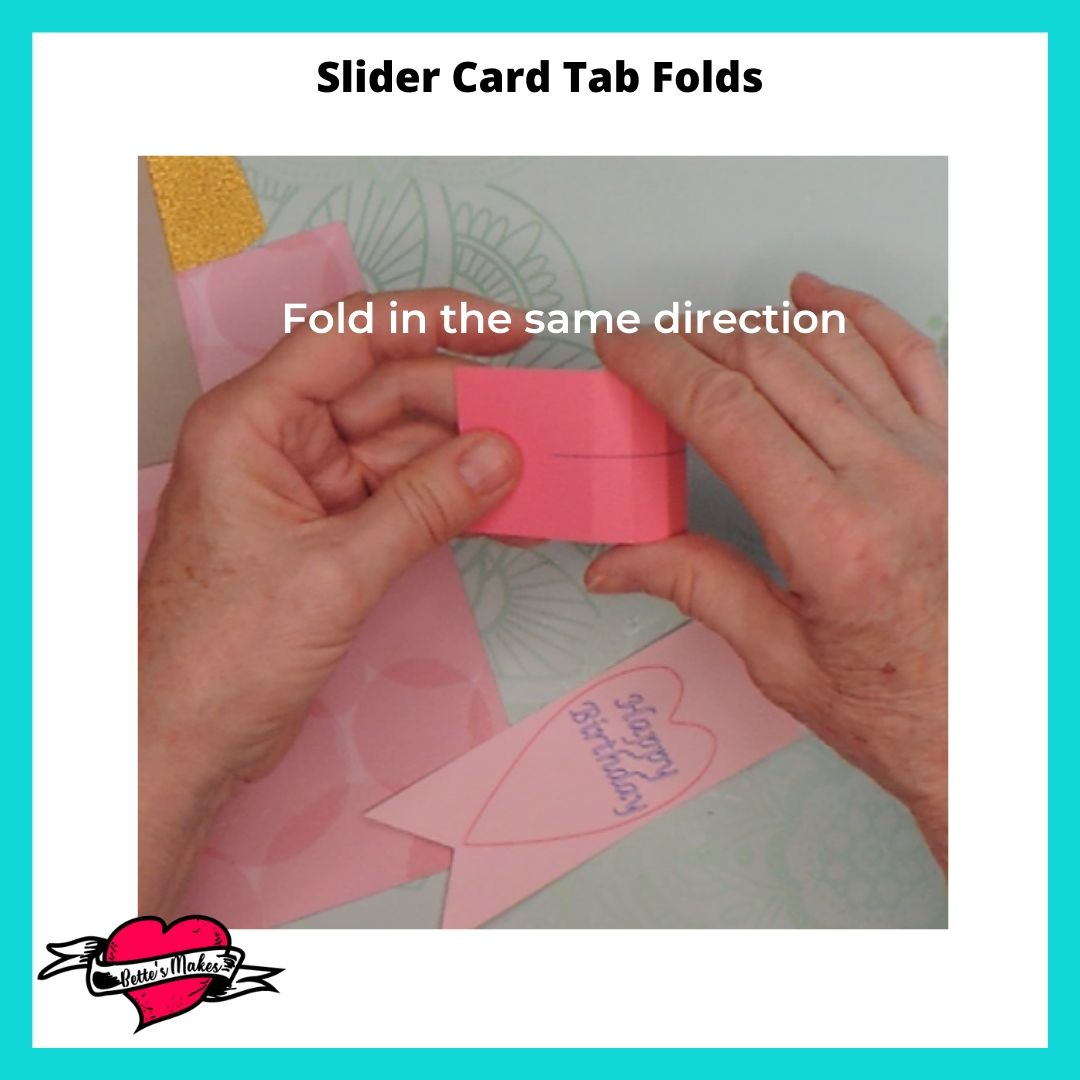 Slider Card Folds