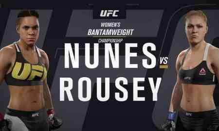 Amanda Nunes v Ronda Rousey