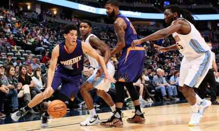 Phoenix Suns v Denver Nuggets - NBA