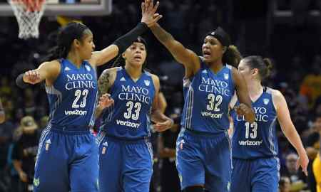 New York Liberty v Minnesota Lynx - WNBA