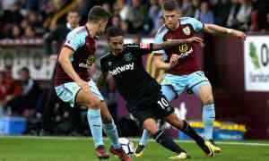 Burnley v West Ham - Premier League