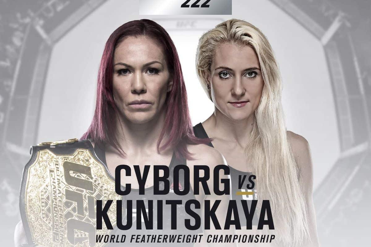 UFC 222 - Cyborg vs Kunitskaya