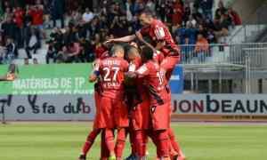 Dijon v Caen - France Ligue 1